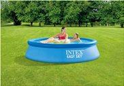 Intex Πισίνα Easy Set 244x61cm Με Φίλτρο (28108NP)